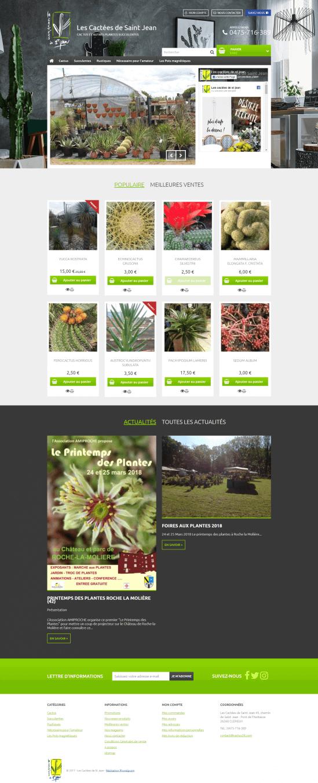 Site de vente en ligne cact es de saint jean e commerce for Site de vente de plantes en ligne